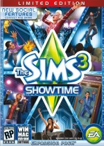 De Sims 3: Showtime cover