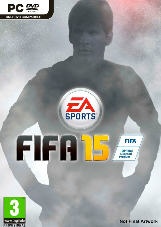 FIFA 15 - Estrella en la portada global Messi