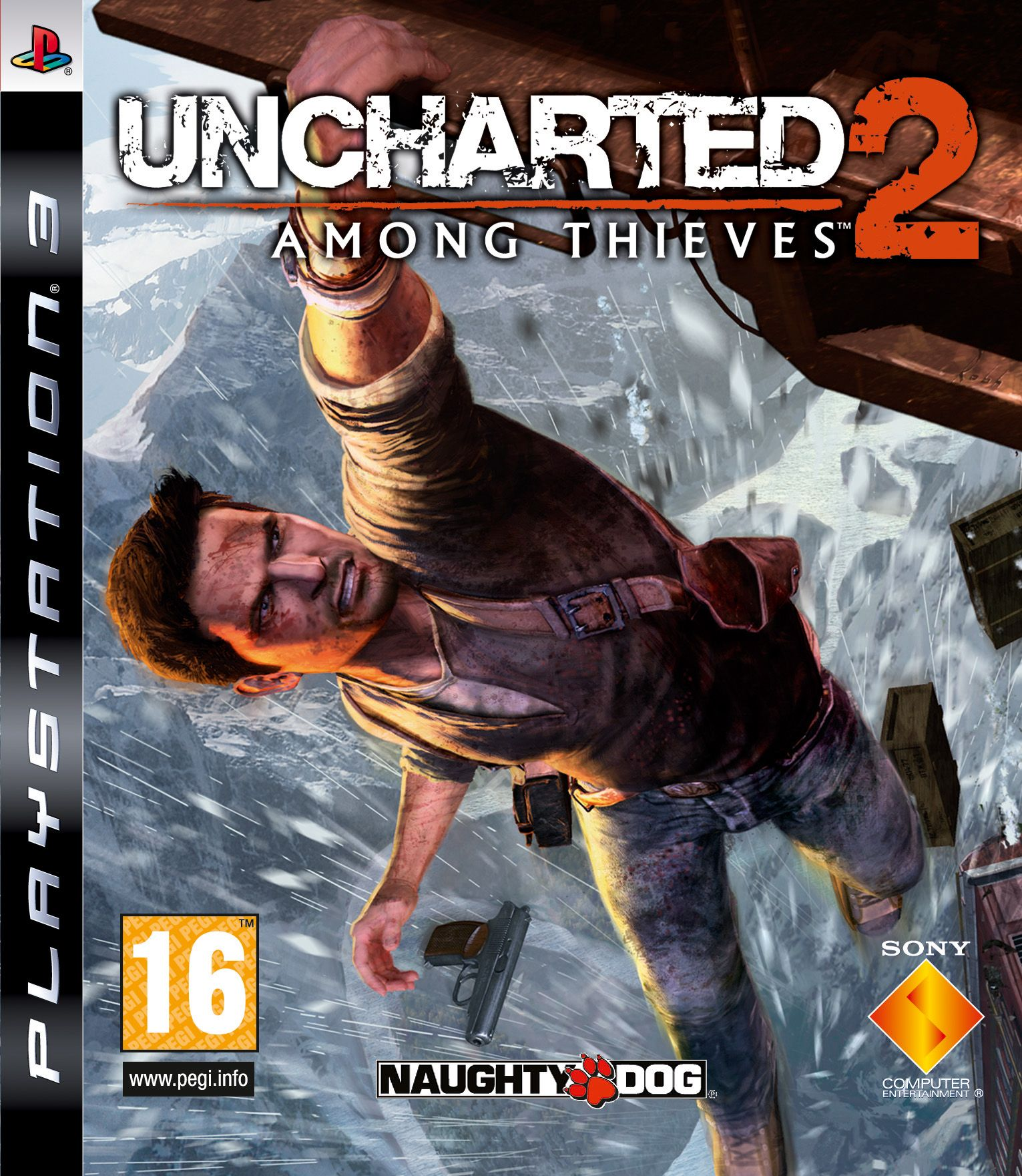 Uncharted 2: Among Thieves   GamersNETUncharted 2 Among Thieves Cover