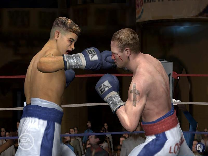 Fight Night Round 4 - java game for mobile Fight Night