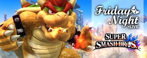 Friday Night Live: aanstaande vrijdag met Super Smash Bros.