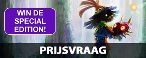 Prijsvraag: Win de Special Edition van The Legend of Zelda: Majora's Mask 3D