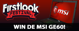 Prijsvraag: Win een MSI GE60 gaming laptop op FirstLook Festival!