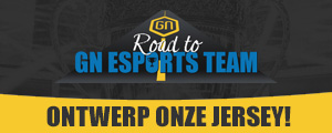 Maak het design van de offici�le jersey en win je eigen shirt! | Road to GN eSports Team
