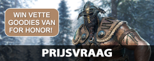 WIN megavette goodies van For Honor! | Prijsvraag