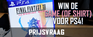 Win Final Fantasy XII: The Zodiac Age of een t-shirt! | Prijsvraag